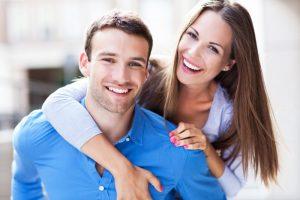 A happy healthy couple.